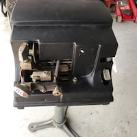 ILCO vintage key machine