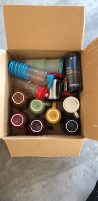 assorted plastic bottles in box Las Cruces, 88007