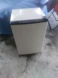 black and gray compact refrigerator Fort Walton Beach, 32548