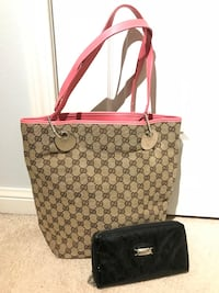 Gucci tote + free wallet Mississauga