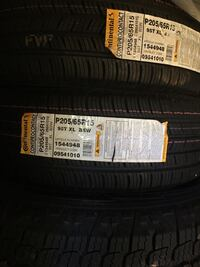 4 New Tires Continental P205/65R15 vehicle tires Olney, 20832
