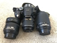Nikon D5300 with lenses and accessories  Ventura, 93003