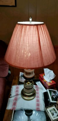 brown and white table lamp Mississauga, L5B 2S7