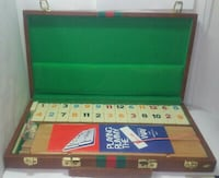 Vintage RUMMY RUMMIKUB TILE GAME SET American & International Way MONTREAL