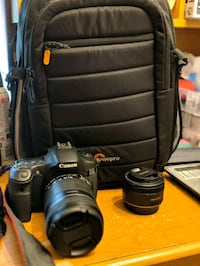 Canon 60D with 2 lenses and 2 bags Millbrae, 94030