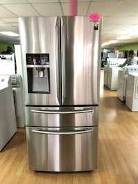 Samsung stainless steel double French door refrigerator Woodbridge, 22191