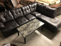 Leather sectional WE DELIVER AND FINANCE Jacksonville, 28540