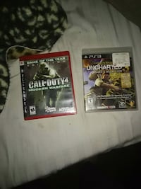 two PS3 game cases and two game cases Corpus Christi, 78411