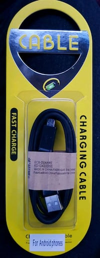 Android Fast Charge Cable - Black Calgary, T3J 3J7