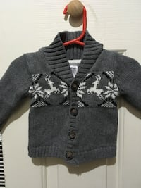 0-3 mth. Reindeer sweater