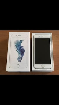 Silver iphone 6s with box Toronto, M6M