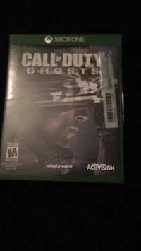 Call of Duty Ghosts Xbox One game case 555 mi