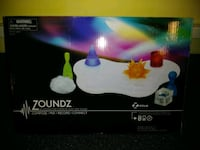 ZOUNDS BY ZILLE MUSIC MACHINE WITH ALARM CLOCK STEREO