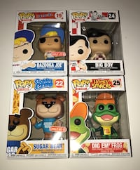 Funko Pop AD ICONS Lot of 4  Las Vegas, 89107