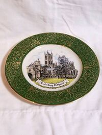 Vintage Canterbury Cathedral Collector Plate Jacksonville, 32244