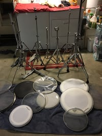 Drum stands/ covers assets Moreno Valley, 92557