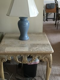 3 Marble Tables  Sterling