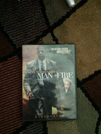 Man On Fire DVD Baltimore, 21230