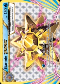 Pokemon Card - Starmie BREAK__Break Star