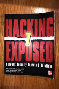 Hacking 7 Exposed Network Security Secrets & Solutions Lorton, 22079