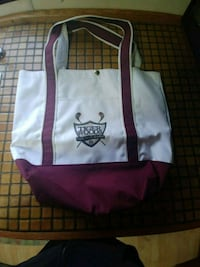 Authentic Tiger Woods Fantasy Camp tote bag