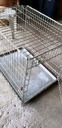 Dog crate.  30 long x 22 wide x 25 high