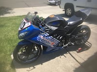 blue and black Suzuki sports bike Fairfield, 94534
