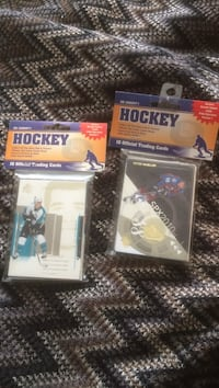 two Ice Hockey player trading cards