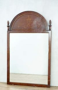 Inlaid Mahogany Wall Mirror (1015432) SANJOSE