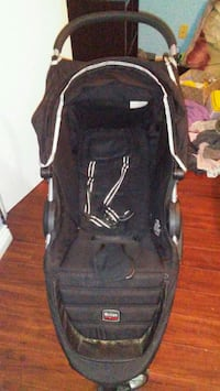 Black stroller come with a car seat  Maple Ridge, V2X 8C1