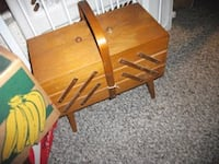 Vintage sewing stand ...firm price... Corbyville