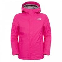 Pink the north face full-zip hoodie Victoria, V8T