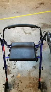 black and blue rollator Springfield, 65804