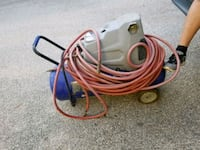 white and red corded power tool Houston, 77081