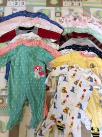 Baby Girl Jammies 6-9 months