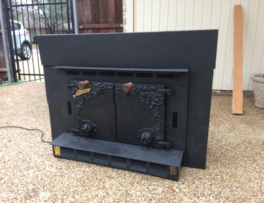 used ashley fireplace insert for sale in denton letgo rh gb letgo com ashley fireplace insert warranty ashley w100-01 fireplace insert