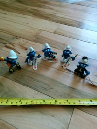 $5ea. Small new old stock Smurfs  Clarence-Rockland, K0A 1E0