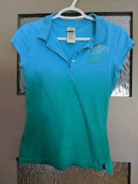 Women's blue/green  top size small Calgary, T2E 0B4