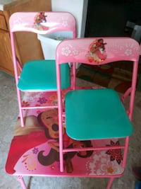 Alana of Avalore girls table and chair set
