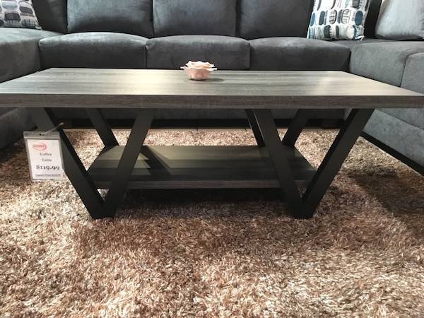 Rustic Coffee Table And Tv Stand Set