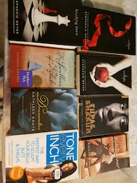 Books for sale $3-5 each or all for $20