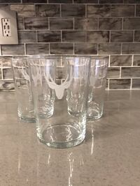 Antler Glasses - Set of 5 Phoenix, 85048