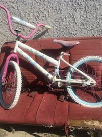 white and pink BMX bike Camarillo, 93010