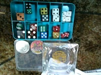 Casino collection old dice old slot coin  Hattiesburg