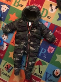 Baby jump suits, snow suit, and other outfits $15 each