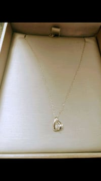 10k white gold necklace from People's Jewelry Markham, L3T