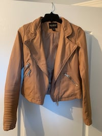 Brown Faux Leather Jacket size XS Brampton, L6R 1G3