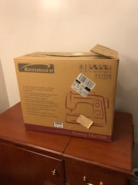 "New Sewing machine and accompanying table kenmore never used 1999 classic 36""Wx20""Dx31""H -  28 km"