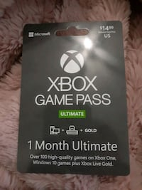 Game pass x box