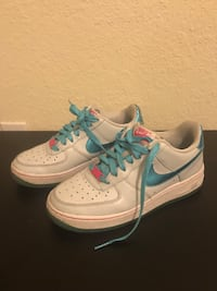 pair of white-and-blue Nike running shoes Miramar, 33025